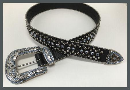 CA-Black Genuine Leather Belt