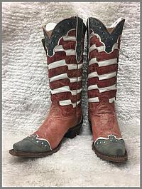 "Corral - USA ""American"" Flag Boots"
