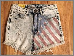 Denim Shorts  All American Style