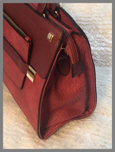 Berry (Wine) Ladies Handbag/Purse