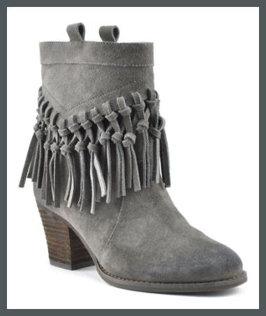 SBICCA - Sound Charcoal Ankle Bootie