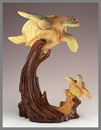 Sea Turtles - Mamma & Baby1